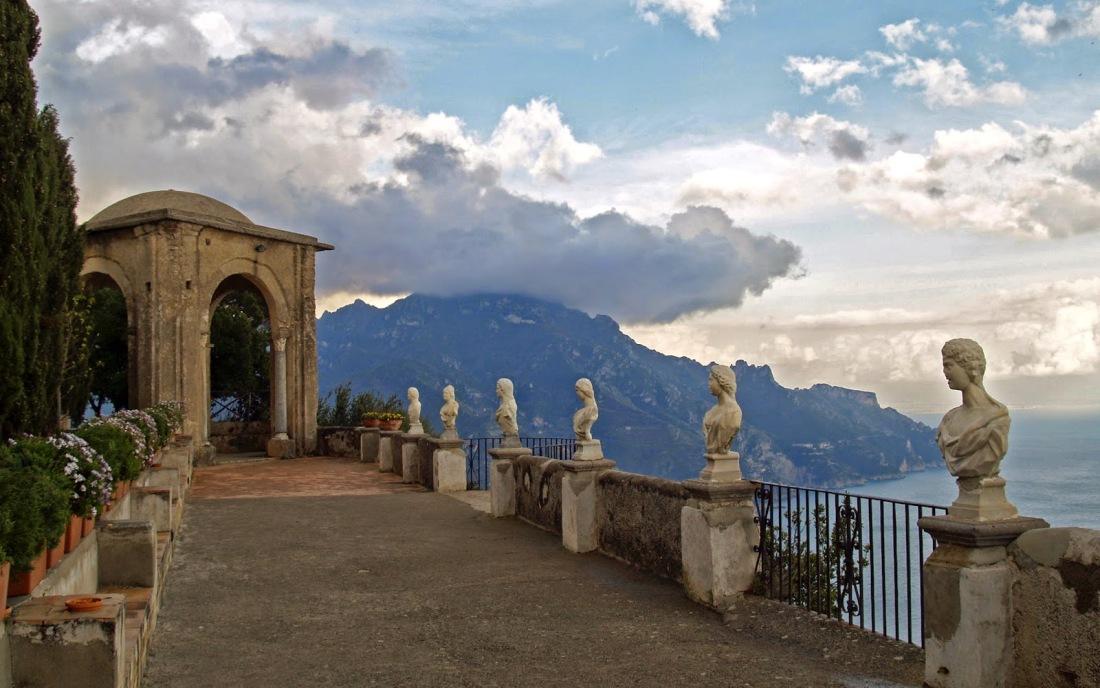Ravello - Villa Cimbrone - La Terrazza dell_Infinito