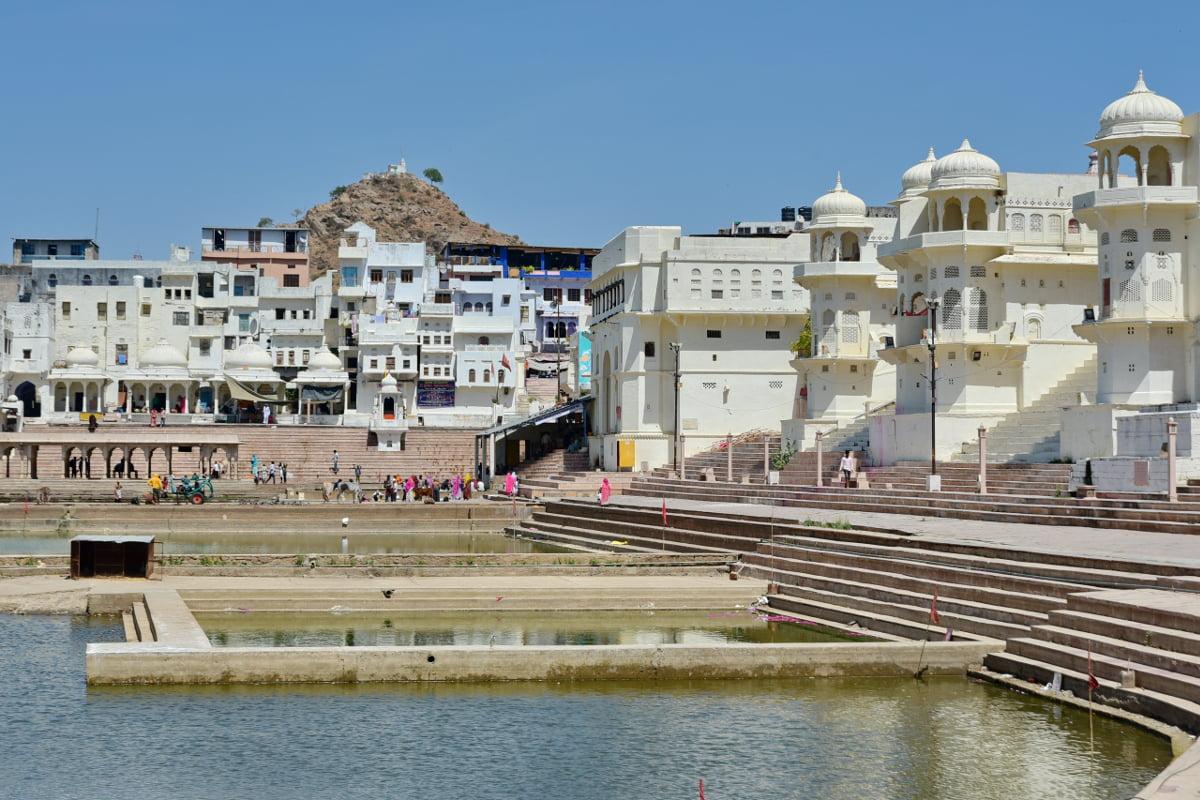 ghats-pushkar
