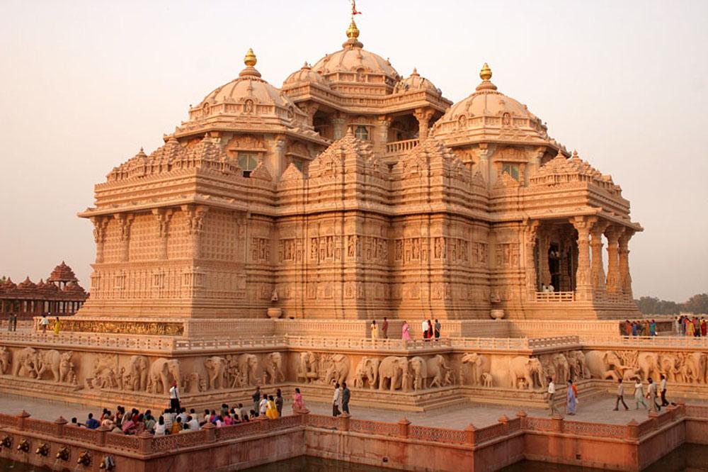 templo-Akshardam-nova-delhi gigantes pelo mundo